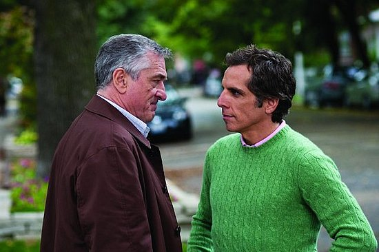 Ben Stiller with Robert De Niro